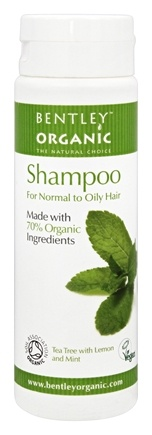 Bentley Organic - Shampoo 70% Organic For Normal To Oily Hair - 8.4 oz.