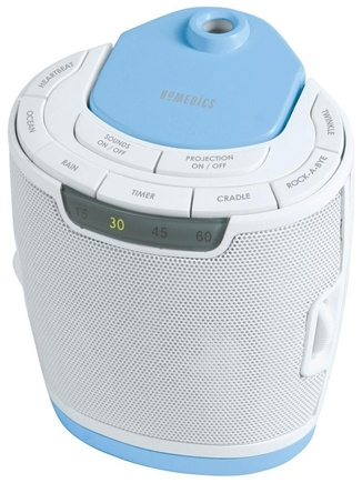 DROPPED: HoMedics - SoundSpa Lullaby with Picture Projection (SS-3000) - CLEARANCE PRICED