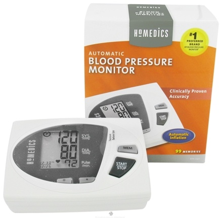 DROPPED: HoMedics - Automatic Blood Pressure Monitor with Smart Measure Technology (BPA-040) - CLEARANCE PRICED