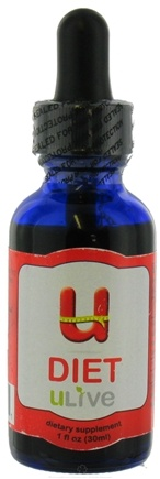 DROPPED: ULive - U-Diet Dietary Supplement - 1 oz. CLEARANCE PRICED
