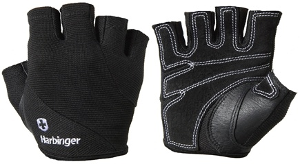 DROPPED: Harbinger - Women's Power Lifting Gloves- Medium- Black - 1 Pair CLEARANCE PRICED