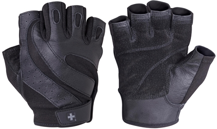 DROPPED: Harbinger - Pro Lifting Gloves - Extra Large Black - 1 Pair CLEARANCE PRICED
