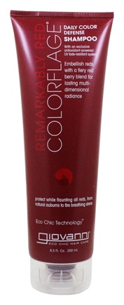 Giovanni - Shampoo Colorflage Daily Color Defense Remarkably Red - 8.5 oz.