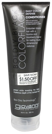 DROPPED: Giovanni - Conditioner Colorflage Daily Color Defense Boldly Black - 8.5 oz.
