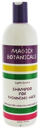 DROPPED: Magick Botanicals - Shampoo For Thinning Hair Lightly Scented - 16 oz. CLEARANCE PRICED