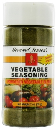 DROPPED: Bernard Jensen - Powdered Vegetable Blend Seasoning - 2 oz.