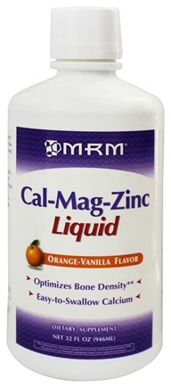 MRM - Cal-Mag-Zinc Liquid Orange Vanilla - 32 oz.