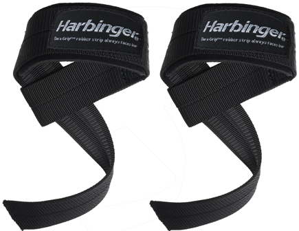 DROPPED: Harbinger - Big Grip No-Slip Padded Lifting Straps