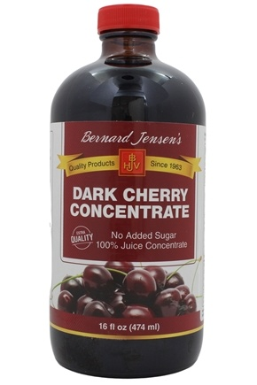 Bernard Jensen - Black Cherry Concentrate Extra Quality - 16 oz.