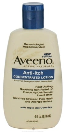 DROPPED: Aveeno - Active Naturals Anti-Itch Concentrated Lotion - 4 oz.