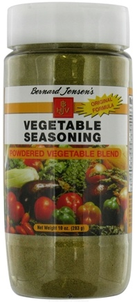 DROPPED: Bernard Jensen - Powdered Vegetable Seasoning Blend - 10 oz.
