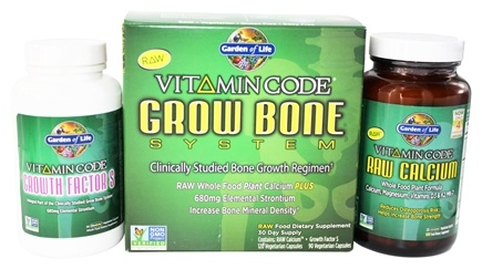 Garden of Life - Vitamin Code Grow Bone System
