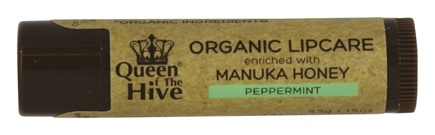 Wedderspoon Organic - Queen of the Hive Natural Lip Balm - 0.15 oz. Formerly Organic Lip Balm Manuka Kiss Lipcare/LUCKY PRICE