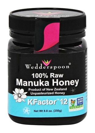 Wedderspoon Organic - Manuka Honey Unpasteurized Active 12+ - 8.8 oz.