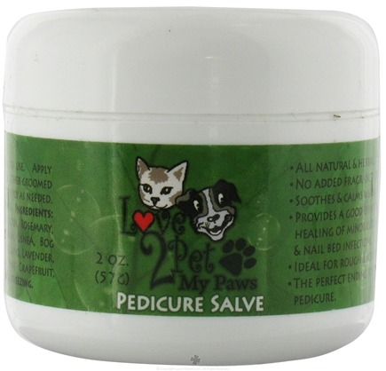 DROPPED: Love2Pet - My Paws Pedicure Salve - 2 oz. CLEARANCE PRICED