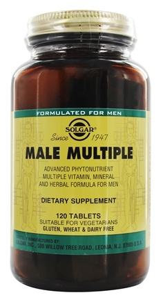 Solgar - Male Multiple - 120 Tablets