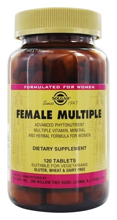 Solgar - Female Multiple - 120 Tablets