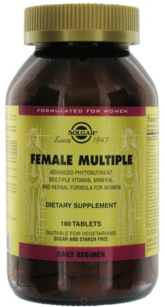 DROPPED: Solgar - Female Multiple - 180 Tablets
