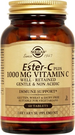 DROPPED: Solgar - Ester-C Plus Vitamin C 1000 mg. - 60 Tablets CLEARANCE PRICED