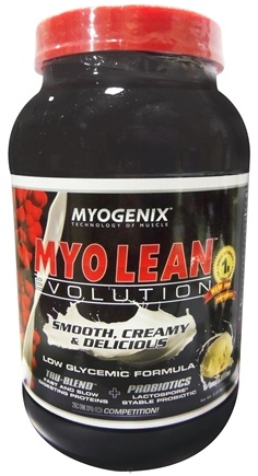 DROPPED: Myogenix - Myo Lean Evolution Vanilla - 2.31 lbs. CLEARANCE PRICED