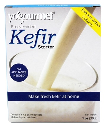 Yogourmet - Freeze-Dried Kefir Starter Set - 6 x 5g Packets
