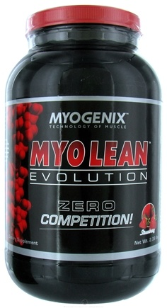 DROPPED: Myogenix - Myo Lean Evolution Strawberry - 2.38 lbs. CLEARANCE PRICED