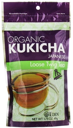 DROPPED: Eden Foods - Organic Kukicha Japanese Loose Twig Tea - 1.75 oz.