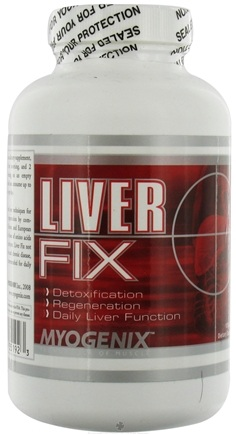 DROPPED: Myogenix - Liver Fix - 120 Capsules CLEARANCE PRICED