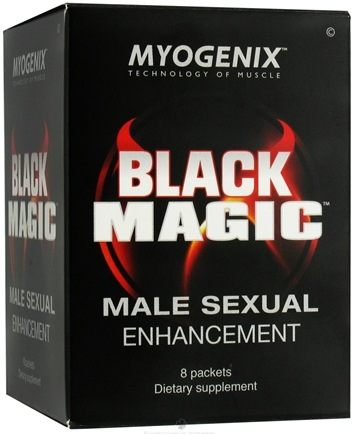 DROPPED: Myogenix - Black Magic Male Sexual Enhancement - 8 Packet(s)