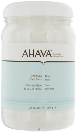 DROPPED: AHAVA - The Source Dead Sea Bath Salts Body Treat - 32 oz. CLEARANCE PRICED