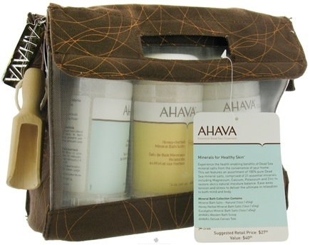 DROPPED: AHAVA - Mineral Bath Collection Set - CLEARANCE PRICED