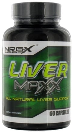DROPPED: NRG-X labs - Liver Maxx - 60 Capsules CLEARANCE PRICED