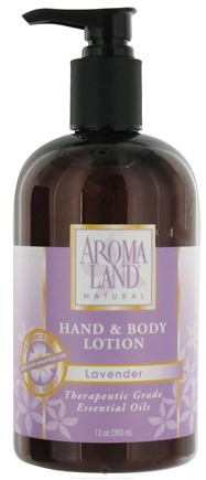 DROPPED: AromaLand - Natural Hand & Body Lotion Lavender - 12 oz. CLEARANCE PRICED