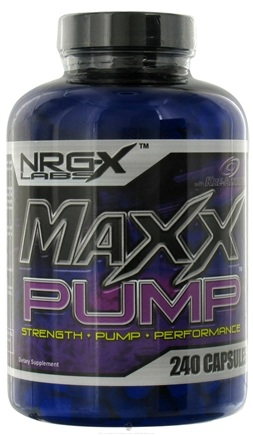 DROPPED: NRG-X labs - Maxx Pump - 240 Capsules CLEARANCE PRICED