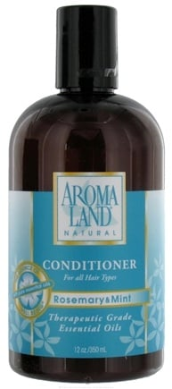 DROPPED: AromaLand - Natural Conditioner For All Hair Types Rosemary & Mint - 12 oz. CLEARANCE PRICED