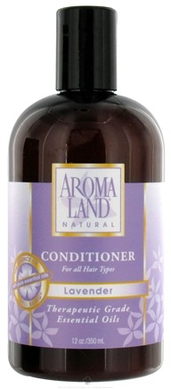 DROPPED: AromaLand - Natural Conditioner For All Hair Types Lavender - 12 oz. CLEARANCE PRICED