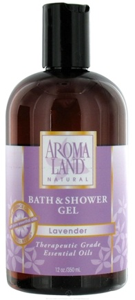 DROPPED: AromaLand - Natural Bath & Shower Gel Lavender - 12 oz. CLEARANCE PRICED