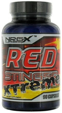 DROPPED: NRG-X labs - Red Stinger Xtreme - 90 Capsules CLEARANCE PRICED