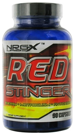 DROPPED: NRG-X labs - Red Stinger - 90 Capsules CLEARANCE PRICED