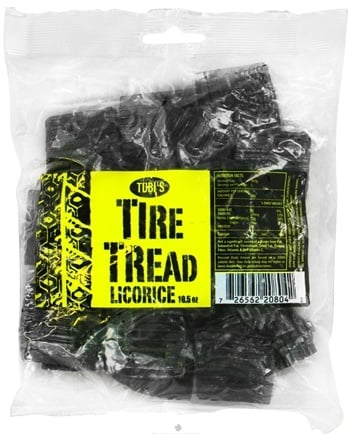 DROPPED: Tubi's - Tire Tread Licorice - 10.5 oz.