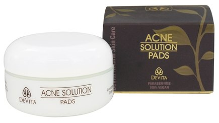DROPPED: Devita RX - Acne Solution Pads - 2 oz.
