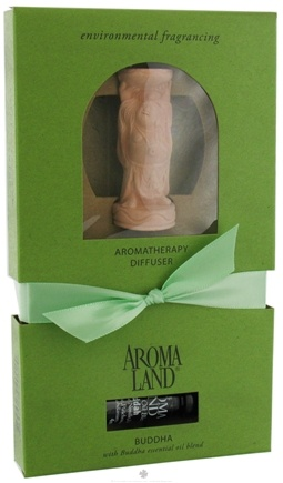 DROPPED: AromaLand - Aromatherapy Diffuser Buddha With Buddha Essential Oil Blend - CLEARANCE PRICED