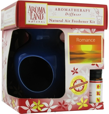 DROPPED: AromaLand - Aromatherapy Diffuser Natural Air Freshener Kit Eve Blue Romance Blend - CLEARANCE PRICED