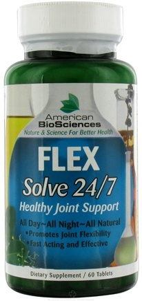 DROPPED: American BioSciences - Flex Solve 24/7 - 60 Tablets CLEARANCE PRICED
