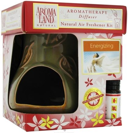DROPPED: AromaLand - Aromatherapy Diffuser Natural Air Freshener Kit Kiva Agate Energizing Blend - CLEARANCE PRICED