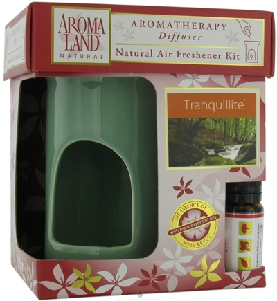 DROPPED: AromaLand - Aromatherapy Diffuser Natural Air Freshener Kit Peace Sage Tranquillite Blend - CLEARANCE PRICED