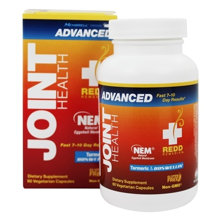 Membrell - Joint Health Advanced - 60 Vegetarian Capsules Formerly Joint Health Natural Eggshell Membrane (NEM)