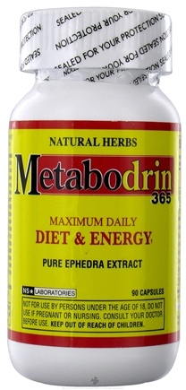 DROPPED: NutraStar Laboratories - Natural Herbs Metabodrin 365 - 90 Capsules UNPUBLISHED