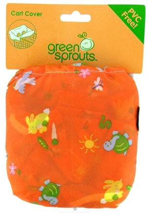 DROPPED: Green Sprouts - Shopping Cart Cover Orange