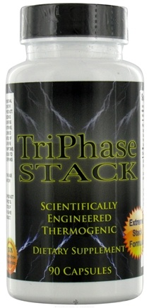 DROPPED: Fusion Health Products - TriPhase Stack - 90 Capsules CLEARANCE PRICED